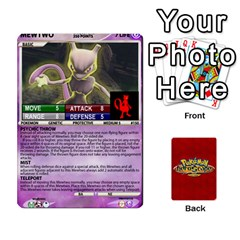 Jack Pokemon 108 151 Extras New By Seth   Playing Cards 54 Designs   U7nx7jmpxk6f   Www Artscow Com Front - SpadeJ