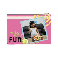 By 劉雅婷   Cosmetic Bag (large)   Atcr7mfs69xl   Www Artscow Com Back