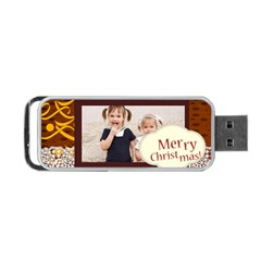 Christmas By Joely   Portable Usb Flash (two Sides)   Lmcoyvk5r595   Www Artscow Com Front