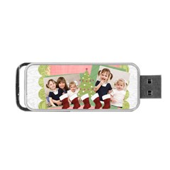 Christmas By Joely   Portable Usb Flash (two Sides)   Qj1uyex5ni0p   Www Artscow Com Back