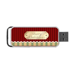 Christmas By Joely   Portable Usb Flash (two Sides)   M72z95itsw2g   Www Artscow Com Back