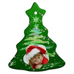 Christmas - Christmas Tree Ornament (Two Sides)