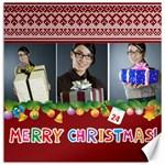 christmas - Canvas 12  x 12