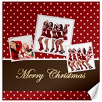 christmas - Canvas 12  x 12