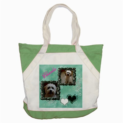 Megbag1 By Cecilia   Accent Tote Bag   47fetcetjudn   Www Artscow Com Front