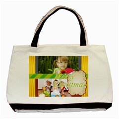 Christmas By Mac Book   Basic Tote Bag (two Sides)   Ippwyv27ho3j   Www Artscow Com Front