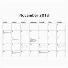 Linder Calendar 2013 By Deborah Hensley   Wall Calendar 11  X 8 5  (12 Months)   0z5tq6bcrmbl   Www Artscow Com Nov 2013