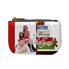 Merry Christmas By Betty   Mini Coin Purse   Hns9f6aft2fr   Www Artscow Com Front
