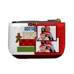 Merry Christmas By Betty   Mini Coin Purse   Hns9f6aft2fr   Www Artscow Com Back