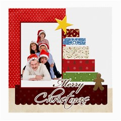 Merry Christmas By Betty   Medium Glasses Cloth (2 Sides)   7tf6t2jpvgd6   Www Artscow Com Front
