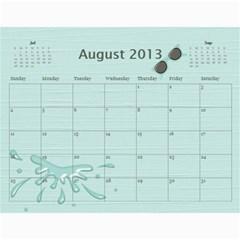 Wendy By Wendy   Wall Calendar 11  X 8 5  (12 Months)   Oh84s4bz23y9   Www Artscow Com Aug 2013