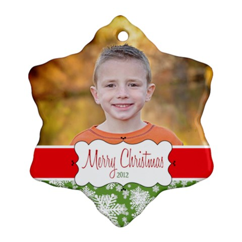 Cyrus  Ornament 2012 By Luvbugerin   Ornament (snowflake)   Efm4u8j9taat   Www Artscow Com Front