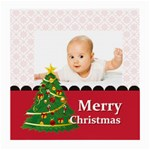 merry christmas, xmas, happy new year  - Medium Glasses Cloth