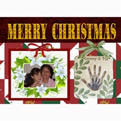 Mommy And Me Christmas Photo Card By Kim Blair   5  X 7  Photo Cards   12z4op042yxe   Www Artscow Com 7 x5 Photo Card - 4