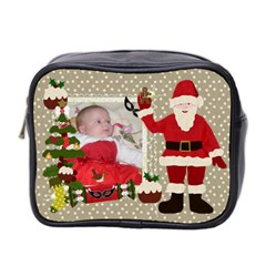 First Christmas Wash Bag By Claire Mcallen   Mini Toiletries Bag (two Sides)   F1v2r3e12y9r   Www Artscow Com Front