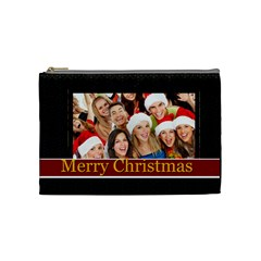 Christmas By Angena Jolin   Cosmetic Bag (medium)   B9n1eauhlu1z   Www Artscow Com Front