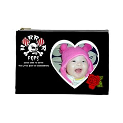 Mi By Yu Ya Hui    Cosmetic Bag (large)   Wrqteiqfah66   Www Artscow Com Front