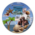 Sea Shells Round Mousepad