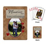 Memories Playing Cards - Playing Cards Single Design