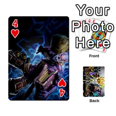 Lol Cards By Dillon   Playing Cards 54 Designs   2kkgwcheyu4n   Www Artscow Com Front - Heart4