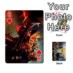 Lol Cards By Dillon   Playing Cards 54 Designs   2kkgwcheyu4n   Www Artscow Com Front - Heart8