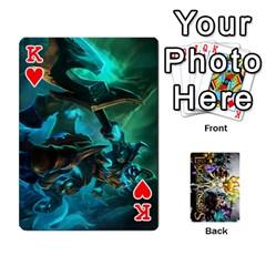 King Lol Cards By Dillon   Playing Cards 54 Designs   2kkgwcheyu4n   Www Artscow Com Front - HeartK