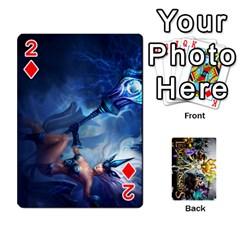Lol Cards By Dillon   Playing Cards 54 Designs   2kkgwcheyu4n   Www Artscow Com Front - Diamond2