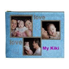 Kiki By Mico Chiang   Cosmetic Bag (xl)   4deagpdnevxk   Www Artscow Com Front
