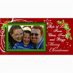 2012 Christmas Cards By Tracy   4  X 8  Photo Cards   Rn8u9qhgxaha   Www Artscow Com 8 x4 Photo Card - 4