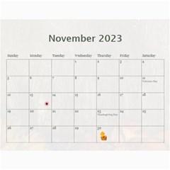 Memory  Calendar 2015 By Kim Blair   Wall Calendar 11  X 8 5  (12 Months)   4ckfx2954pfs   Www Artscow Com Nov 2015