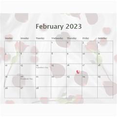 Memory  Calendar 2015 By Kim Blair   Wall Calendar 11  X 8 5  (12 Months)   4ckfx2954pfs   Www Artscow Com Feb 2015