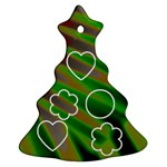 christmas tree 2  ornament (with 5 photos  of yours) - Christmas Tree Ornament (Two Sides)