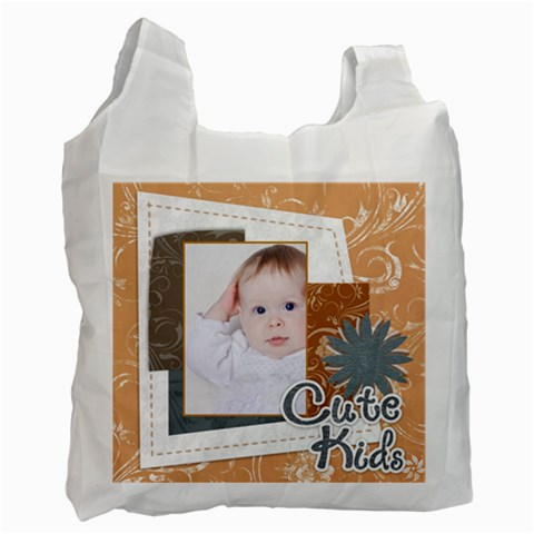 Kids By Betty   Recycle Bag (one Side)   D6wa1j0gj1p5   Www Artscow Com Front