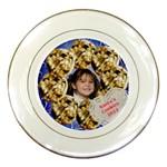 Cookies for santa Porcelian Plate - Porcelain Plate