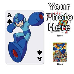 Ace Mega Man By Cheesedork   Playing Cards 54 Designs   Smlvwcjcpd6r   Www Artscow Com Front - SpadeA