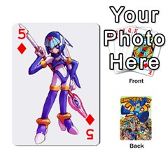 Mega Man By Cheesedork   Playing Cards 54 Designs   Smlvwcjcpd6r   Www Artscow Com Front - Diamond5