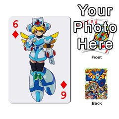 Mega Man By Cheesedork   Playing Cards 54 Designs   Smlvwcjcpd6r   Www Artscow Com Front - Diamond6