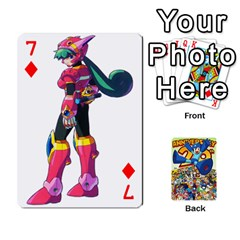 Mega Man By Cheesedork   Playing Cards 54 Designs   Smlvwcjcpd6r   Www Artscow Com Front - Diamond7