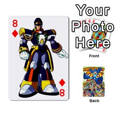 Mega Man By Cheesedork   Playing Cards 54 Designs   Smlvwcjcpd6r   Www Artscow Com Front - Diamond8