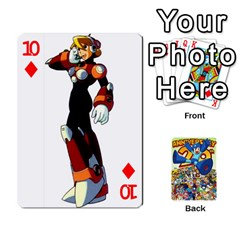 Mega Man By Cheesedork   Playing Cards 54 Designs   Smlvwcjcpd6r   Www Artscow Com Front - Diamond10