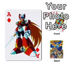 Ace Mega Man By Cheesedork   Playing Cards 54 Designs   Smlvwcjcpd6r   Www Artscow Com Front - DiamondA