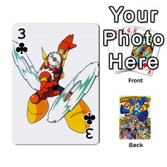 Mega Man By Cheesedork   Playing Cards 54 Designs   Smlvwcjcpd6r   Www Artscow Com Front - Club3