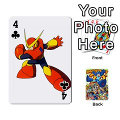 Mega Man By Cheesedork   Playing Cards 54 Designs   Smlvwcjcpd6r   Www Artscow Com Front - Club4
