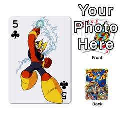 Mega Man By Cheesedork   Playing Cards 54 Designs   Smlvwcjcpd6r   Www Artscow Com Front - Club5
