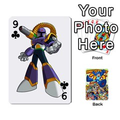 Mega Man By Cheesedork   Playing Cards 54 Designs   Smlvwcjcpd6r   Www Artscow Com Front - Club9