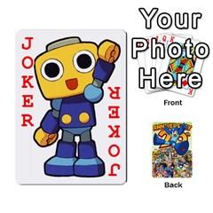 Mega Man By Cheesedork   Playing Cards 54 Designs   Smlvwcjcpd6r   Www Artscow Com Front - Joker2