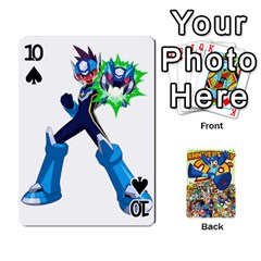 Mega Man By Cheesedork   Playing Cards 54 Designs   Smlvwcjcpd6r   Www Artscow Com Front - Spade10