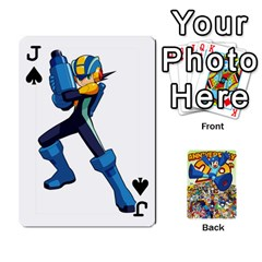 Jack Mega Man By Cheesedork   Playing Cards 54 Designs   Smlvwcjcpd6r   Www Artscow Com Front - SpadeJ