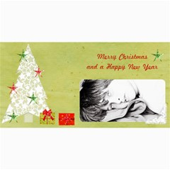 4 x8  Photo Cards Xmas By Deca   4  X 8  Photo Cards   Klp4nyp0yjgg   Www Artscow Com 8 x4 Photo Card - 1