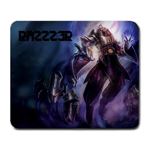 Overlord Malzahar By Sérgio   Large Mousepad   9kcxrwbzotne   Www Artscow Com Front